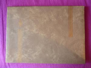 MSB : Album pour timbres-poste de couleur beige