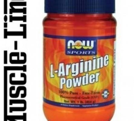 Www.muscle-line.ch  /NOW, Arginine Powde