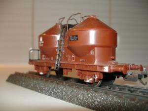 Lima HO 302808 wagon à poches M marron