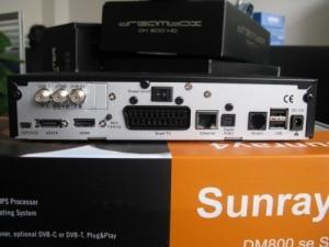 Sunray 800 HD se S C T www.memoshop.ch