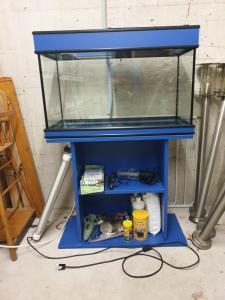 Aquarium 112L avec meuble
