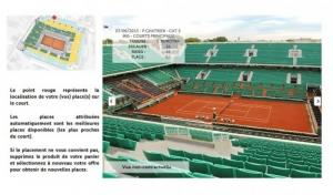 Billet finale homme Roland Garros 2015