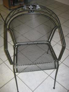 A vendre très belles chaises fer forgé