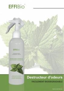 Destructeur d'odeurs Hypoallergénique EFFIBio