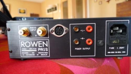 Magnifique Pré Amplificateur Rowen