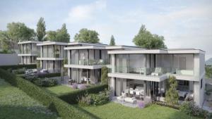 Très belle promotion de 4 maisons mitoyennes à Bernex (2 restantes)