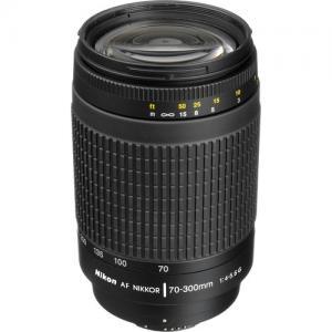 Nikkor AF 70-300mm 1: 4-5.6g format FX, compatible DX