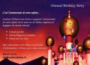 Oriental Birthday Party Crissier
