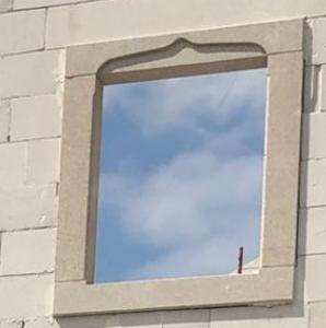 Poteaux de fenêtre en pierre naturelle