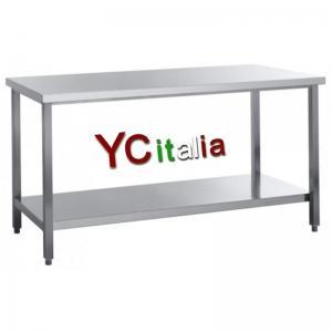 Table inox centrale