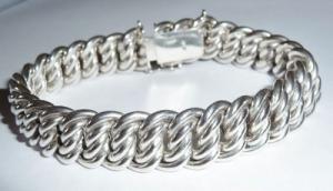 bracelet femme en argent massif