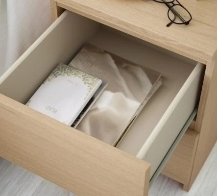 Table de nuit Ikea MALM