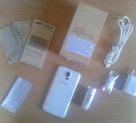 a- Samsung Galaxy S5 Blanc 4G