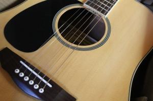Guitare de gaucher Brighton England neuve