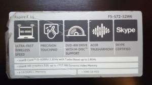 PC portable Acer Aspire I5