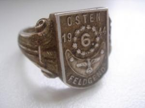 Original German WW2 Feldgendarmerie Ring