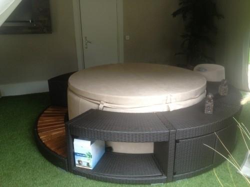 spa softub l gend 220 d 39 occasion quasime. Black Bedroom Furniture Sets. Home Design Ideas