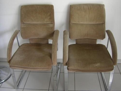 6 fauteuils vintage et 1 fauteuil bureau