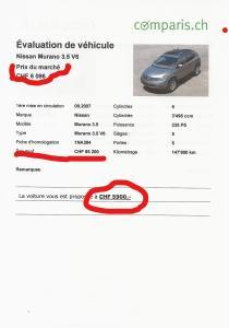 NISSAN Murano 3.5 V6 Automatique