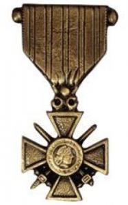 Médailles en bronze d
