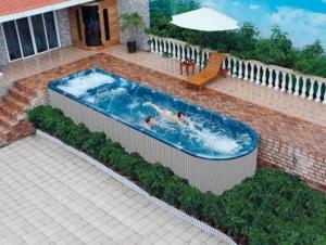 Spa de nage 5 places - VENIZIA - neuf