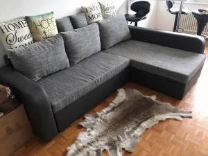 Canapé d'angle convertible NEUF, 5 places avec rangement