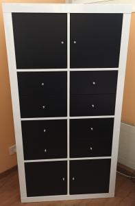 Etagère Ikea blanc laqué