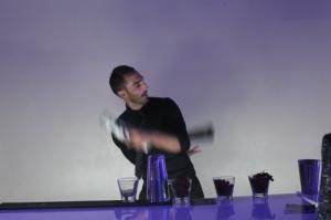 Barman jongleur cocktail Geneve nyon