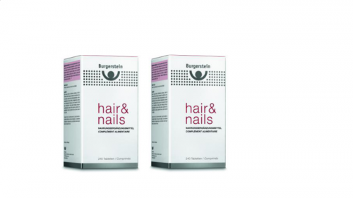 Burgerstein Hair and Nails 2 x 240 comprimés
