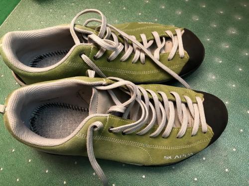 Chaussures Scarpa Mojito lime Vibram Femme