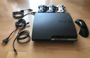 PS3 500GB + 3 manettes + 18 jeux + socle chargement 2 manettes