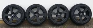 Jantes avec pneus 245x45ZR19 102Y