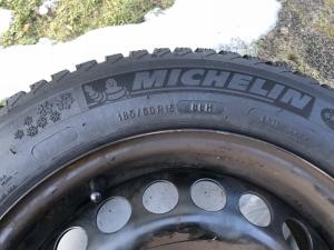 4 Pack Jante+Pneu hiver 185/60 R15 88 H Michelin