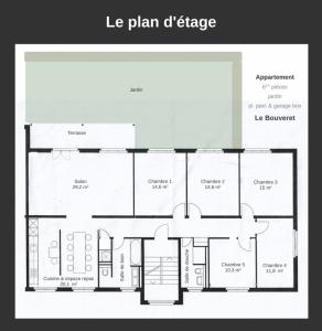 Le Bouveret - 6.5pcs, rénové - jardin, pl. de parc & box