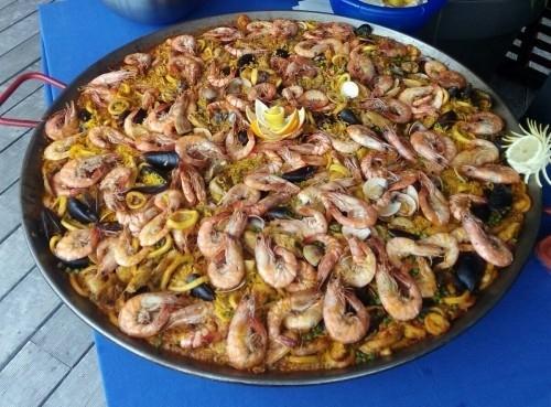 Paella espagnole (traiteur à domicile)
