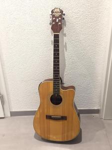 Guitare Eléctroacoustique Racer