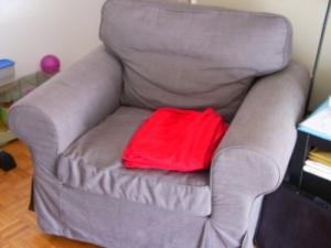 Fauteuil de salon confortable