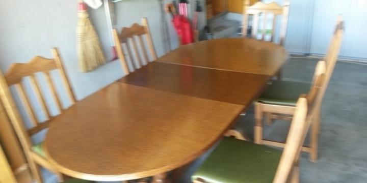 table et chaises pr salle à manger