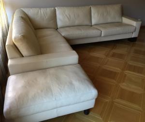 Canapé cuir Pfister