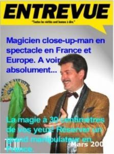 Spectacle de magie à réserver en France.