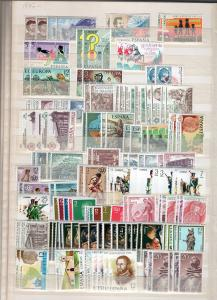 timbres-post Suisse + Espagne