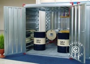 Umw elt-Container 3x2,2x2,2 m