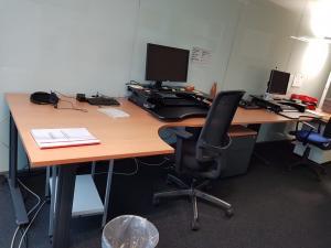 Bureaux de travail à 2 places