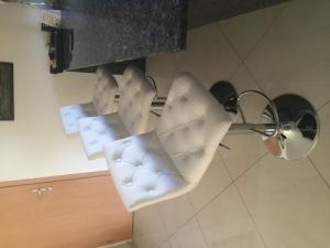 Chaises de bar 3 pces