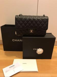 Chanel Original Icon sac noir Jumbo
