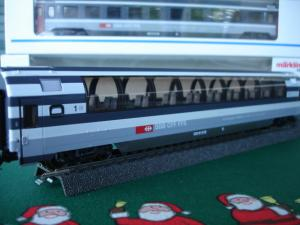 Märklin HO 4365 Euro-City- voiture Panoramic Apm 1er CFF