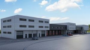 Halles industrielles, surfaces et dimensions selon la demande.