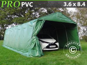 Zeltgarage PRO 3,6x8,4x2,7 PVC, Grün