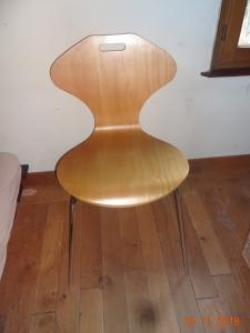 """Lot de 4 chaises """"fourmi"""""""