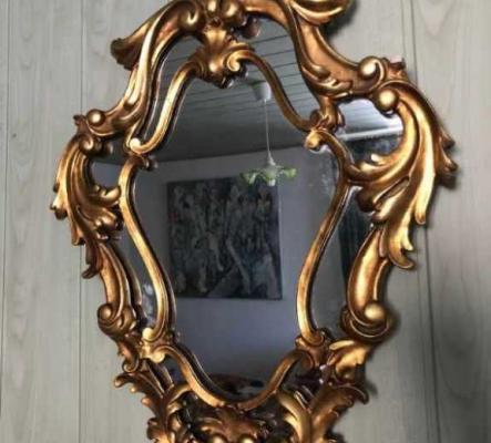 Miroir style rococo